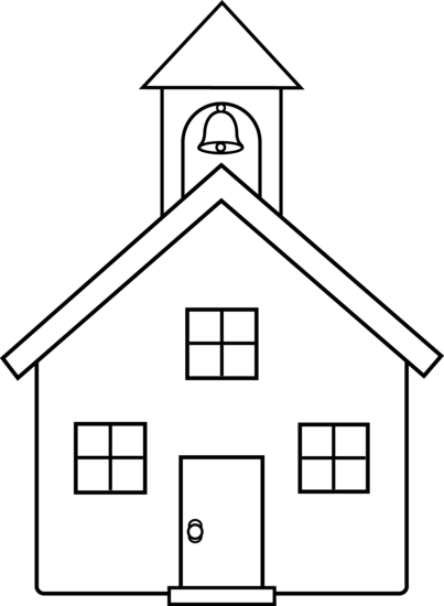 Schoolhouse old fashioned school house clipart clipartfest