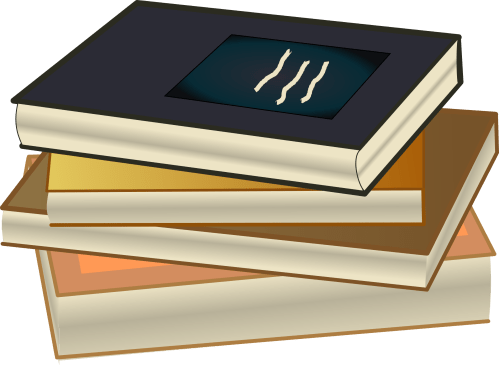 small resolution of stack of books clipart book stack pile de livres