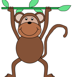 displaying monkey face clipart clipartmonk free clip art images [ 1081 x 1250 Pixel ]