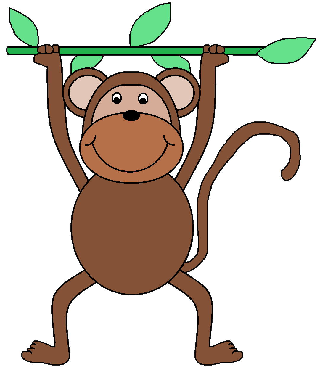 hight resolution of displaying monkey face clipart clipartmonk free clip art images