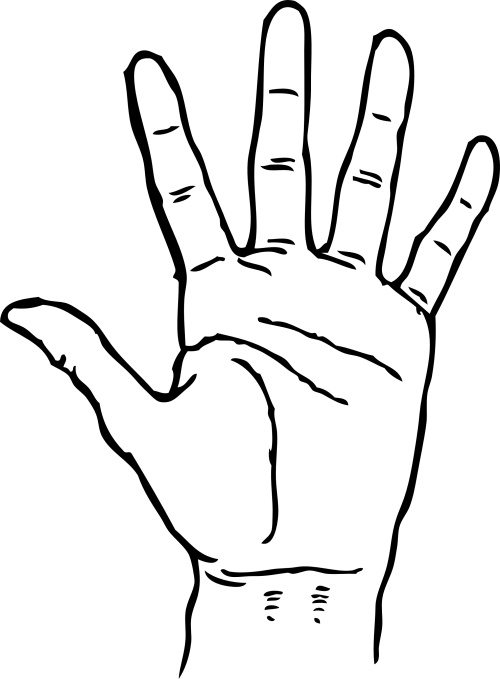 small resolution of hand black and white hands clipart black and white free images
