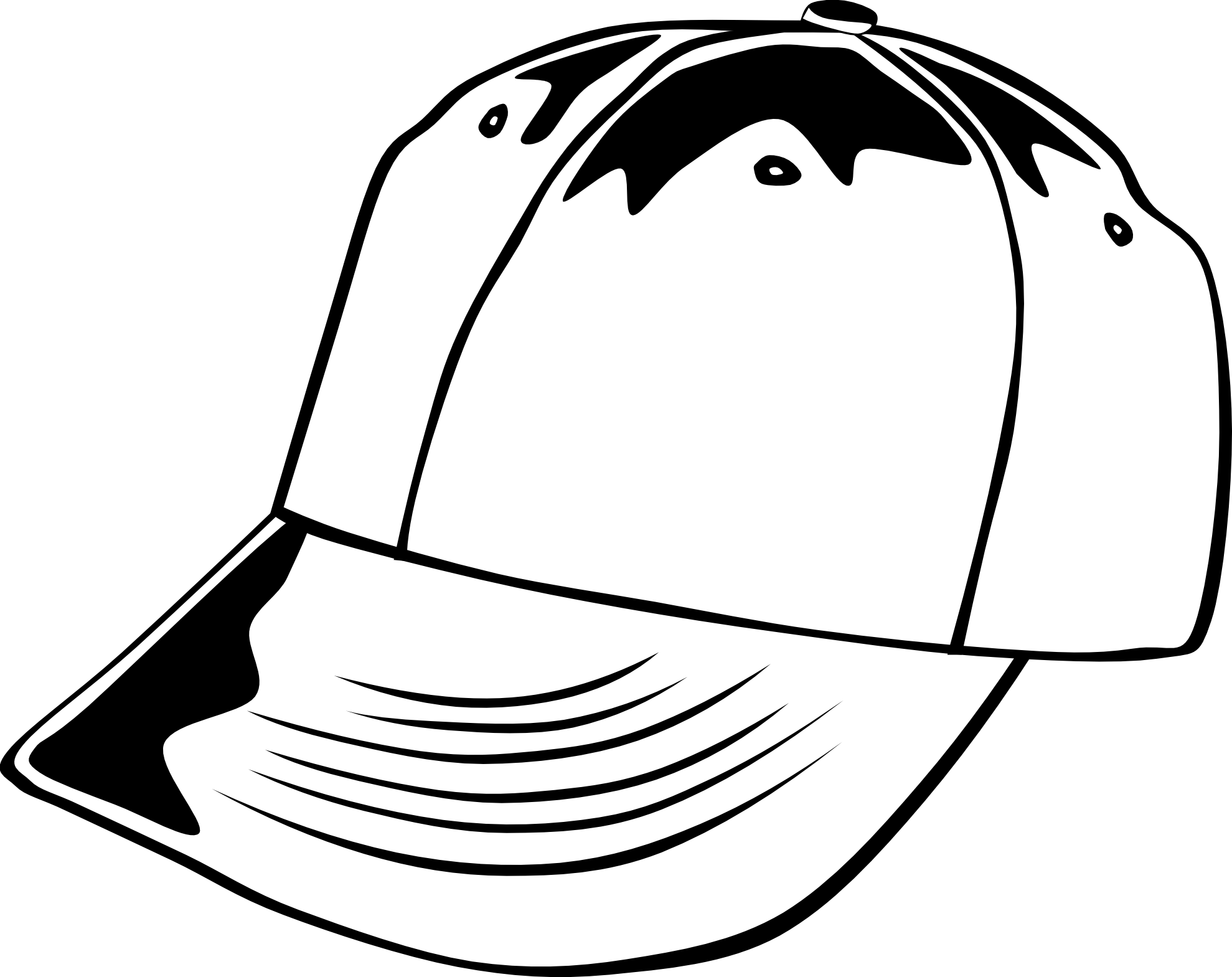 Hat Black And White Pirate Hat Clipart Black And White
