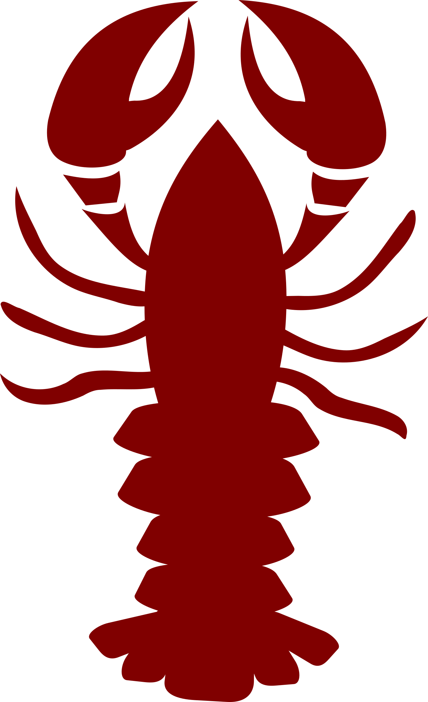 hight resolution of lobster outline lobster pics clipart