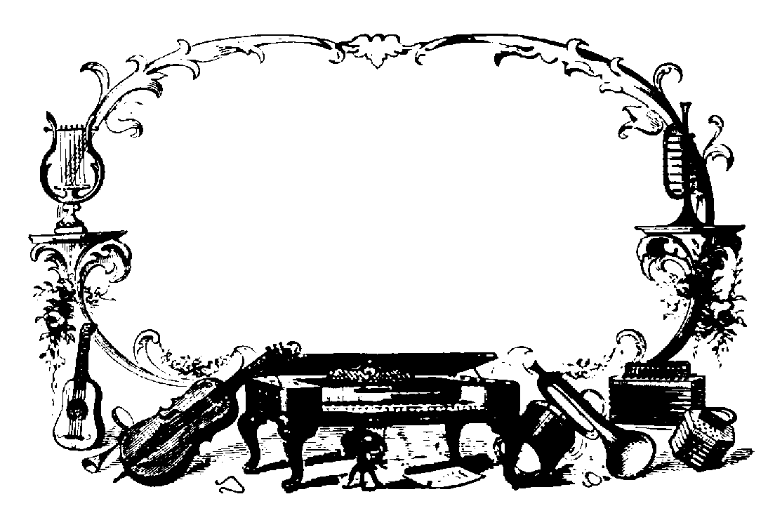 hight resolution of musical borders music border clipart