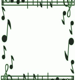 musical borders music note border clipart free images 2 [ 752 x 1063 Pixel ]