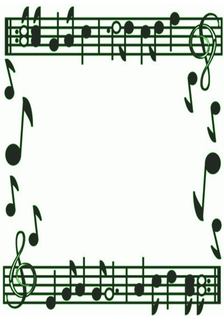 hight resolution of musical borders music note border clipart free images 2