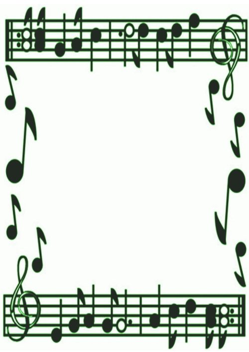 small resolution of musical borders music note border clipart free images 2