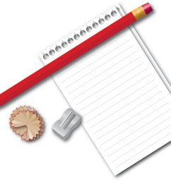 paper and pencil clipart the cliparts [ 2000 x 1584 Pixel ]