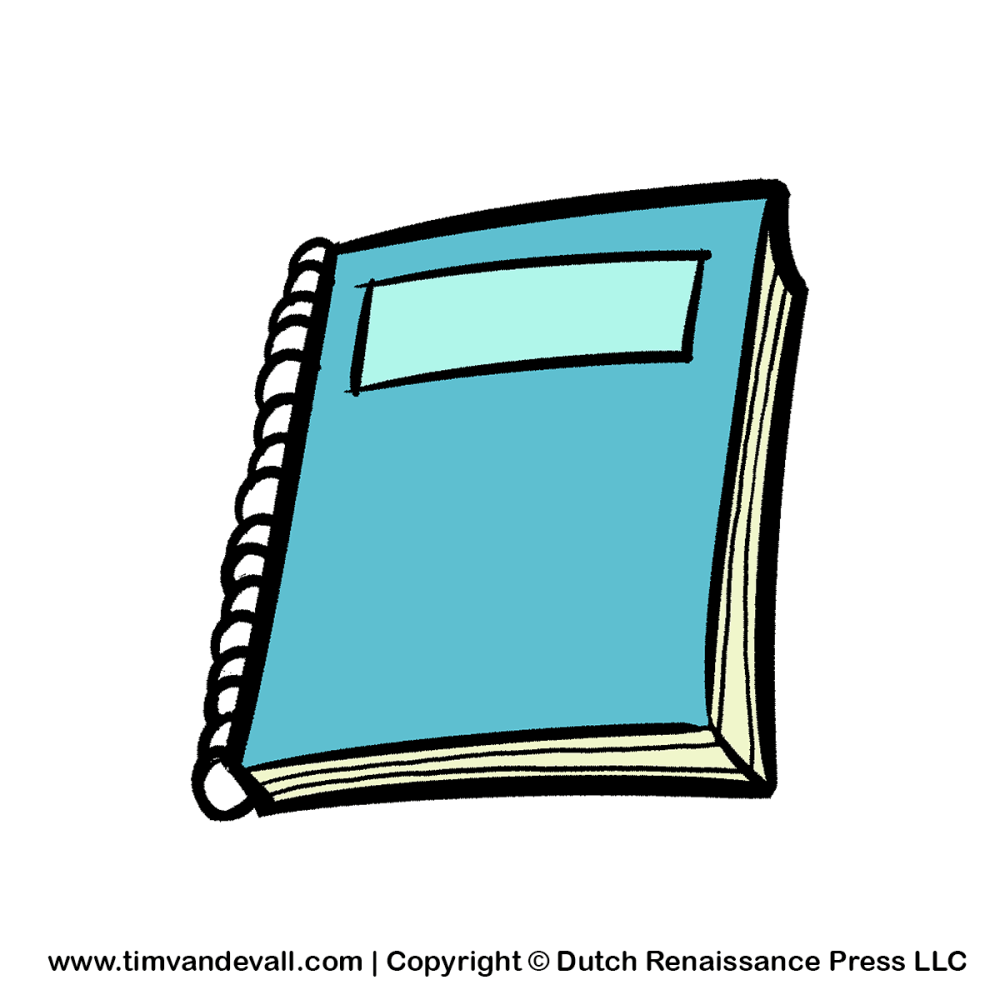 medium resolution of paper and pencil notebook and pencil clipart