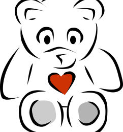 teddy bear black and white black and white pictures of bears clipart free to use clip [ 1871 x 2123 Pixel ]