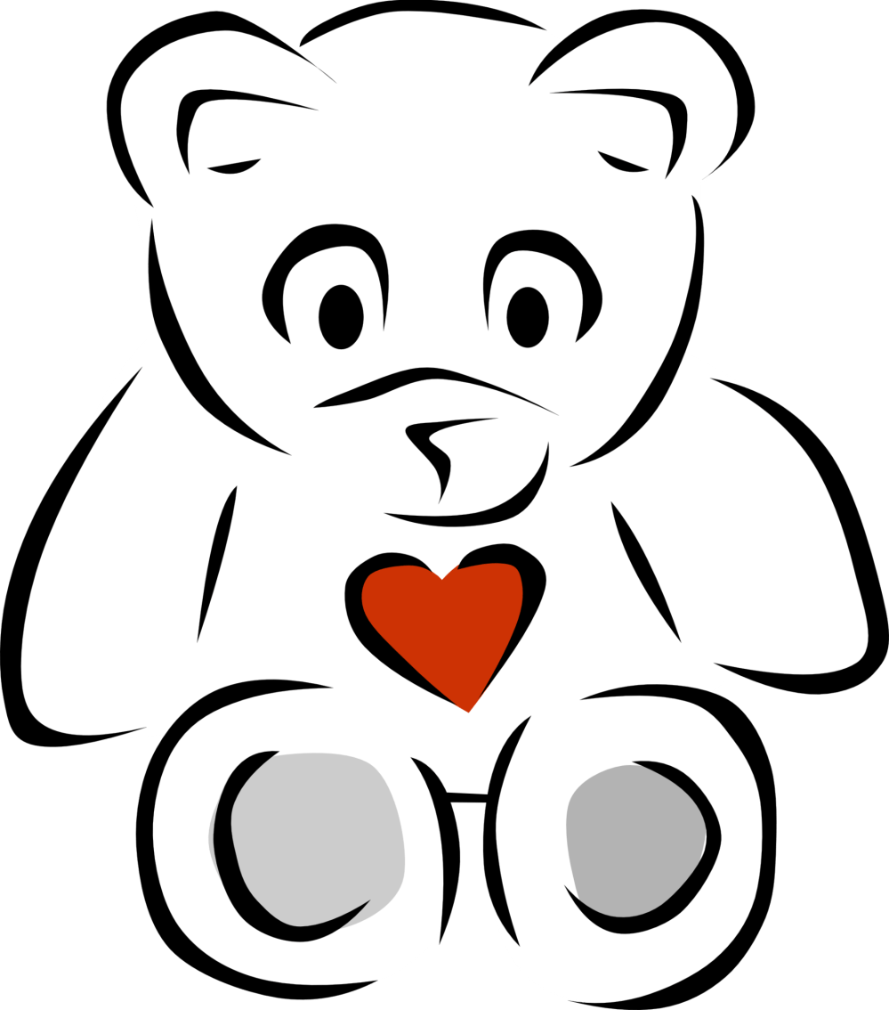 medium resolution of teddy bear black and white black and white pictures of bears clipart free to use clip