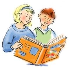 kid reading reading books clipart 8 [ 1666 x 1620 Pixel ]