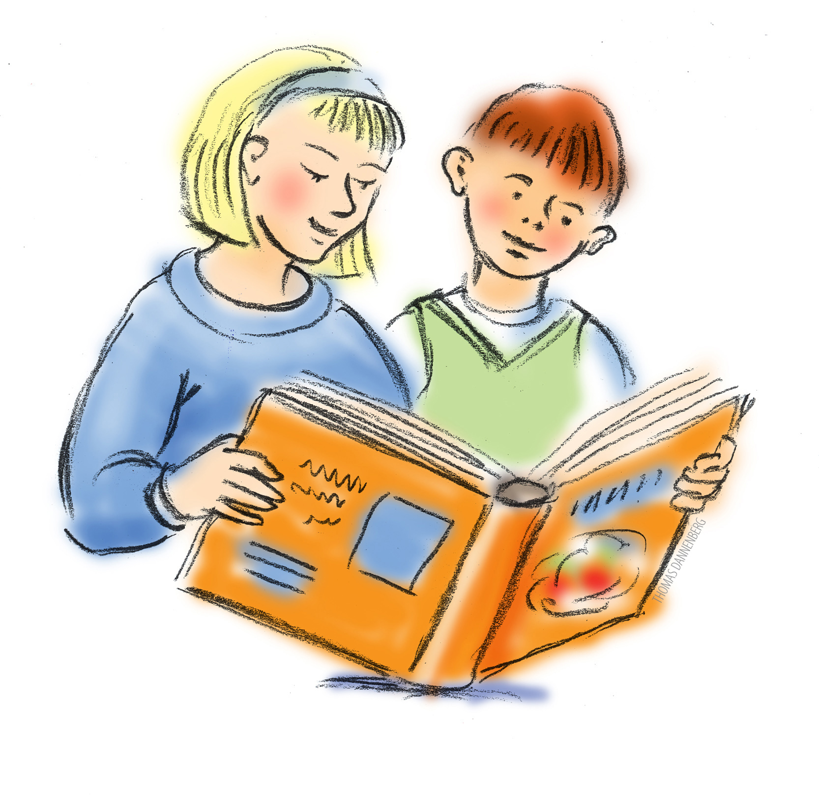 hight resolution of kid reading reading books clipart 8