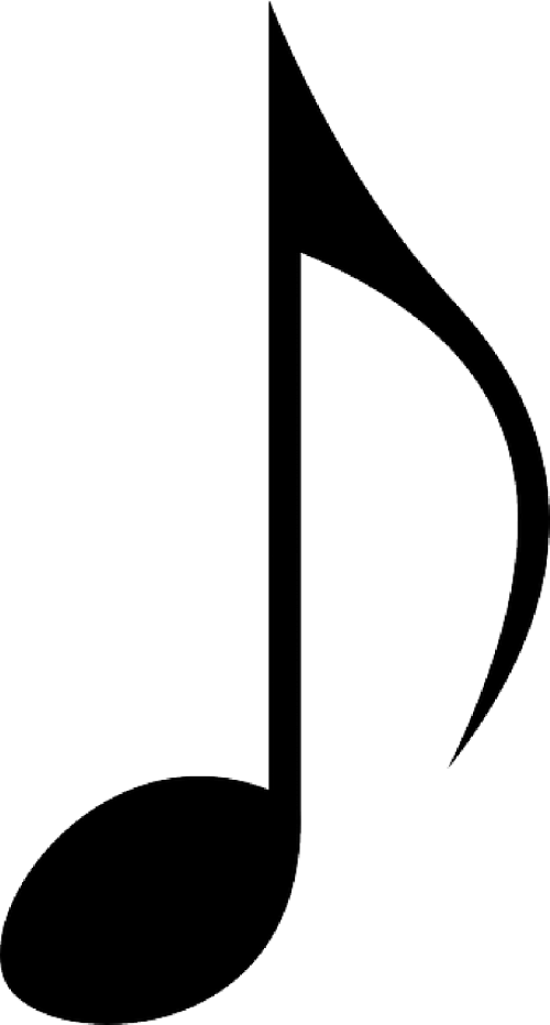 small resolution of music notes black and white clipart music note