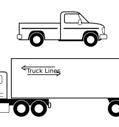 truck black and white semi truck clipart black and white clipart download [ 2400 x 1392 Pixel ]
