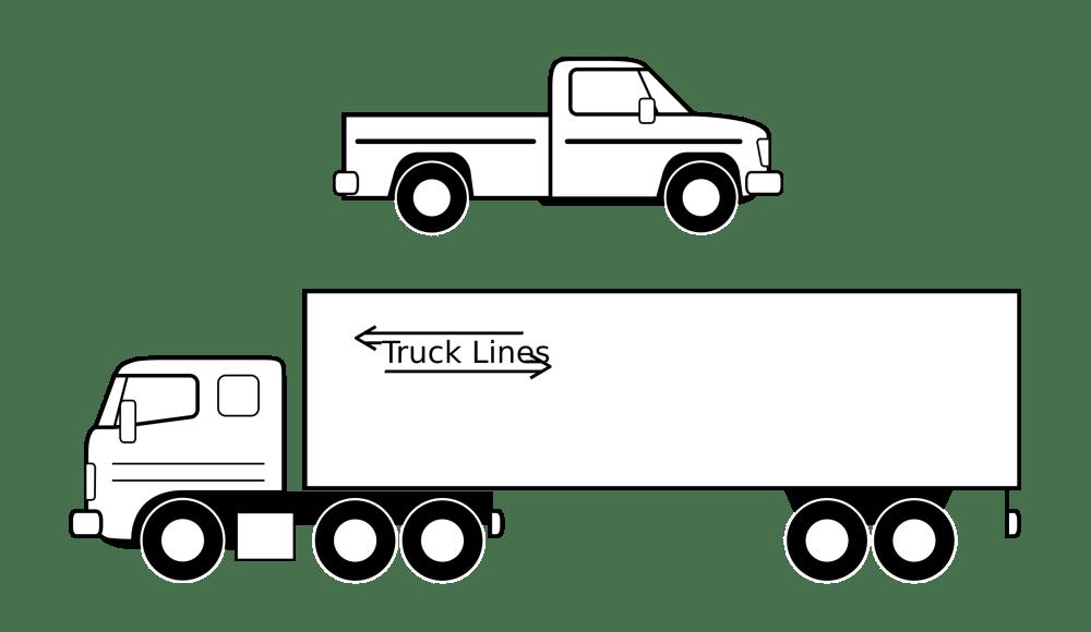 medium resolution of truck black and white semi truck clipart black and white clipart download