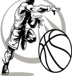girls basketball clip art free bing images stuff [ 1114 x 1412 Pixel ]