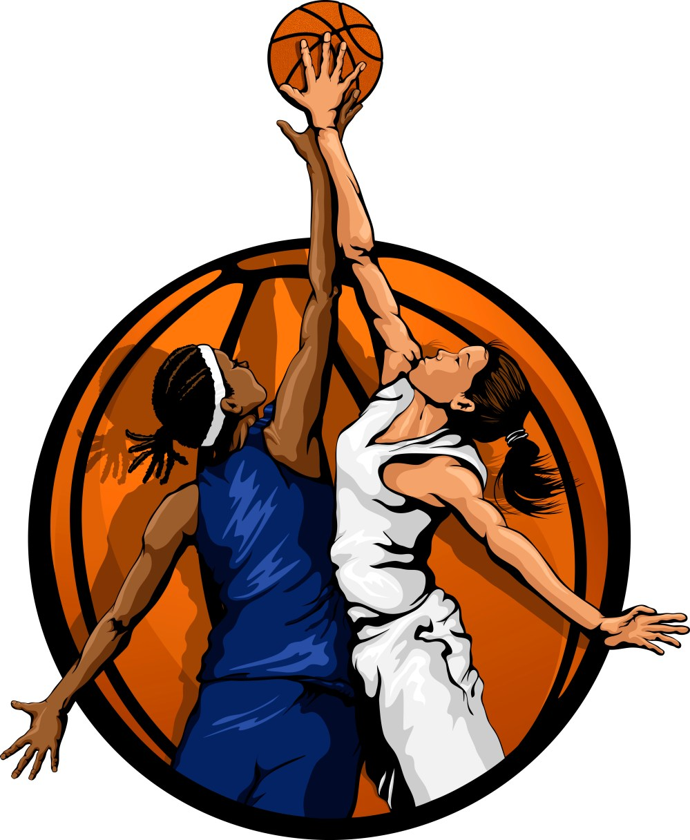 medium resolution of girls basketball home clip art