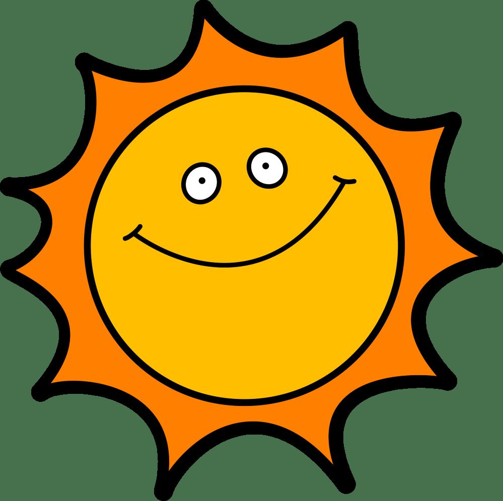 medium resolution of happy sun clipart 10