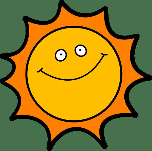 small resolution of happy sun clipart 10