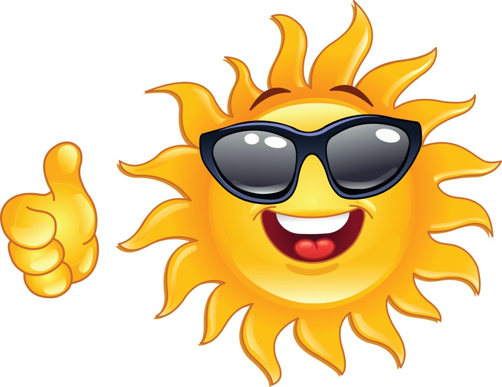 medium resolution of happy sun clipart 3