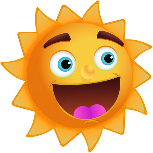small resolution of sunshine happy sun clipart free images 3