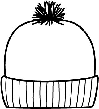 Winter hat hat template ideas on pirate hat crafts clipart