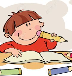 doing homework free clipart of children doing school work clipart collection [ 1300 x 941 Pixel ]