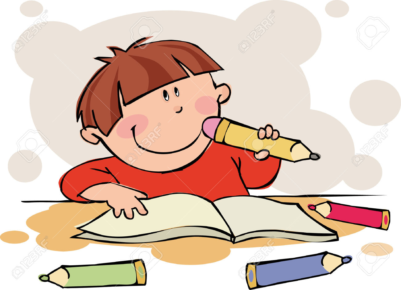hight resolution of doing homework free clipart of children doing school work clipart collection