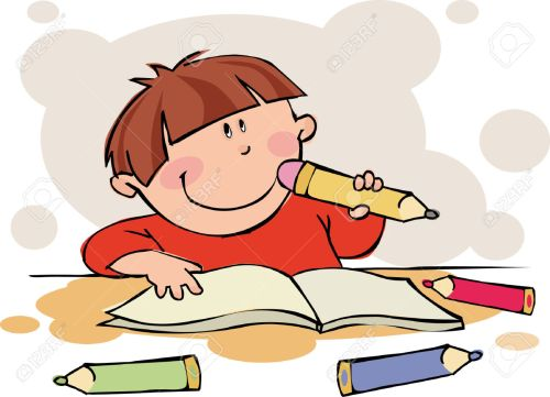 small resolution of doing homework free clipart of children doing school work clipart collection