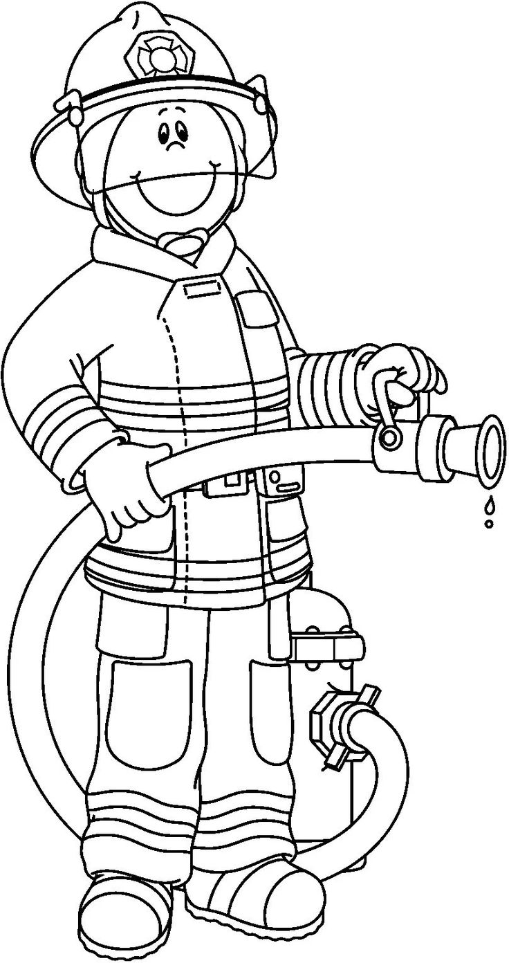 fireman sam 11 coloring page auto electrical wiring diagram Rheem Thermostat Wiring Diagram firefighter black and white firefighter clipart