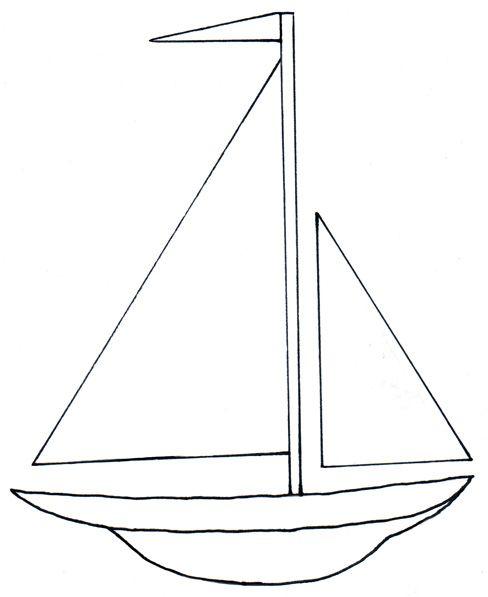 Boat Clipart Black And White : clipart, black, white, Sailboat, Black, White, Design, Images, WikiClipArt
