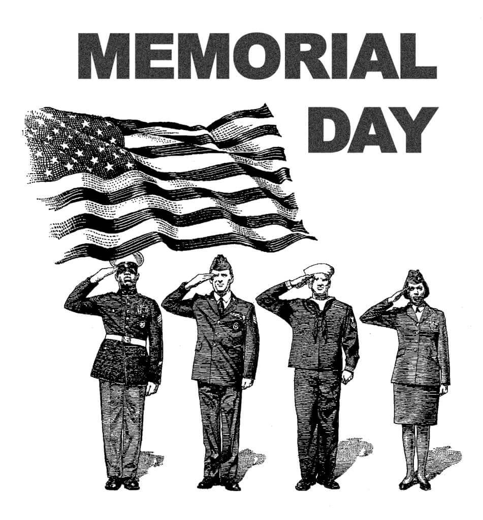 hight resolution of thank you black and white memorial day clip art black and white happy 8