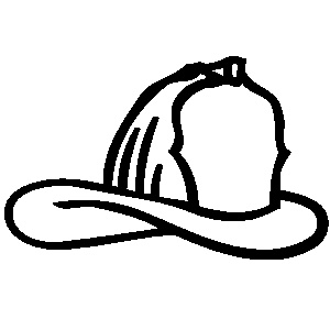 fire hat clipart 39