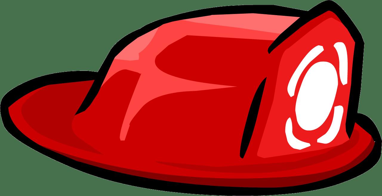 fire hat firefighter clipart