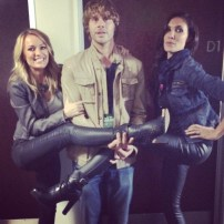 @ericcolsen: If I look confused and overwhelmed it's because I am. In a @danielaruah an @brookeanderson sandwich. Check please. #wcs