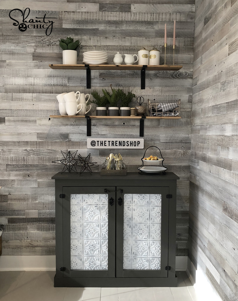 DIY-Faux-Tin-Door-Coffee-Cabinet-by-Shanty2Chic