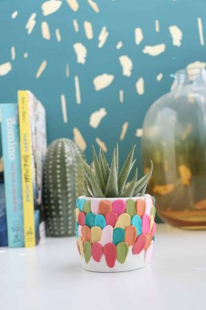 Make-a-Clay-Petal-Planter-12