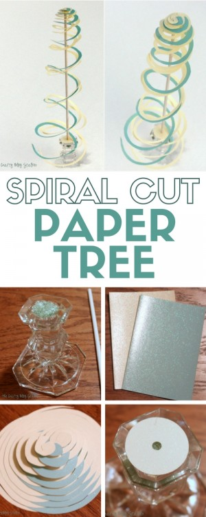 SPIRAL-CUT-PAPER-TREE-9-300x750 diy projects
