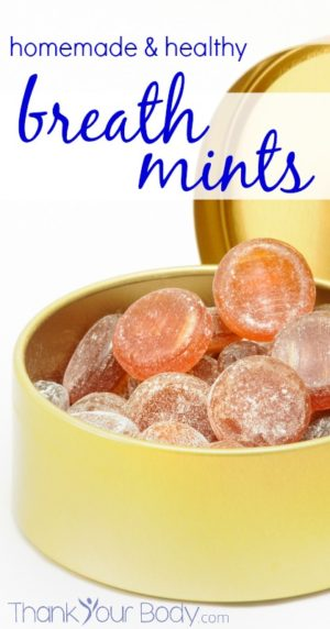diy breath mints homemade healthy