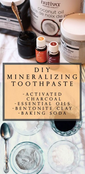 diy re mineralizing toothpaste