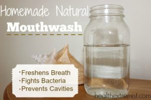 homemade natural mouthwash