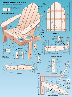 how to built an adirondack chair
