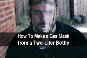 how to make a gas mask from a two liter bottle
