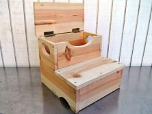 how to make a step stool with built in storage