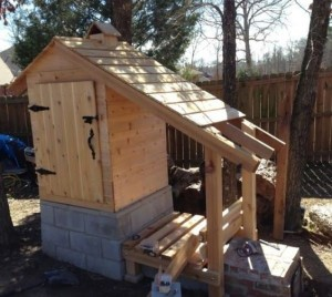 learn how to build a smokehouse with this awesome diy project
