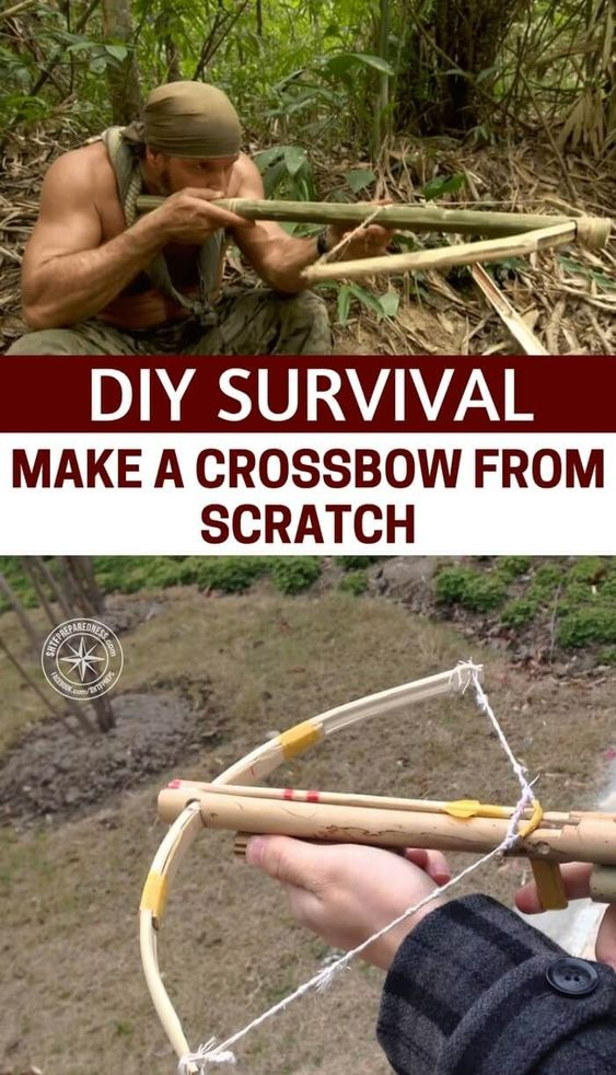 make a crossbow from scratch
