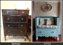 478-dresser-turned-bench