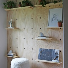 472-giant-pegboard-accent-wall-diy