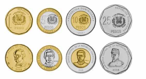 Monedas dominicanas